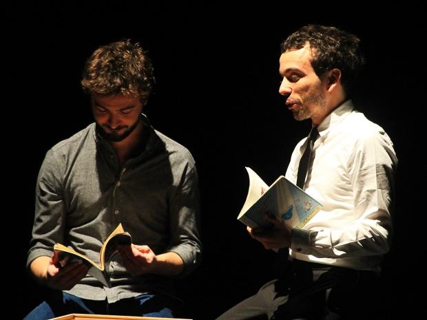 Renan et Damien Luce, le 19 novembre 2015,à Rombas. (photo: Coralie Houillon)